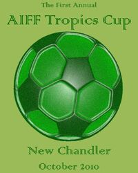 The logo of the 2010 AIFF Tropics Cup.