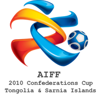 The logo of the 2010 AIFF Confederations Cup.