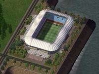 Cowlitz Riverside Stadium daytime