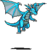 Blue Dragon Sprite