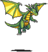 Green Dragon Sprite