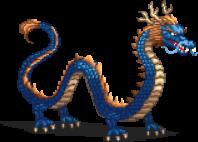Water Dragon Sprite
