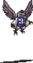 Crow Tengu (without staff) Sprite