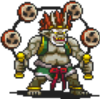 Raijin (Walking) Sprite