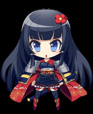 Chibi Shizuka Render