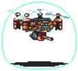 Flying Droid Sprite