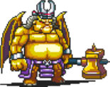 Golden Greater Demon Sprite