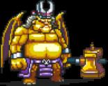 Golden Greater Demon Sprite