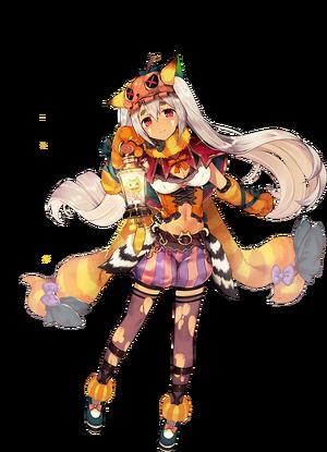 Renarde (Halloween) Render