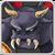 Black Flying Demon Icon