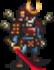 Helmeted Ochimusha Swordsman Sprite