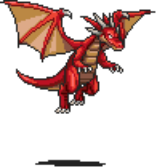 Red Dragon Sprite