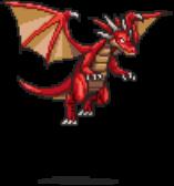 Red Dragon Sprite