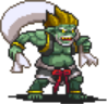 Fuujin (Walking) Sprite