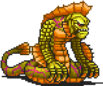 Yellow Naga Sprite