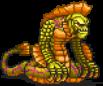 Yellow Naga Sprite