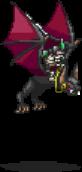 Skeleton Cavalier Sprite