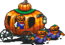 Pumpkin Carriage Sprite