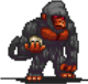 Black Ape (Stone Thrower) Sprite