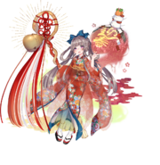 Orochihime (New Year's) Render