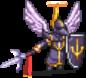 Angel Knight (Black) Sprite