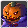 Pumpkin Monster Icon