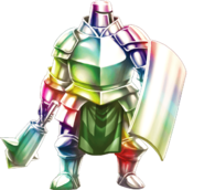 Rainbow Armor Render