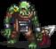 Orc Dagger Thrower Sprite