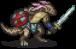 Desert Lizard Swordsman Sprite