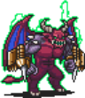 Double Drill Demon Sprite