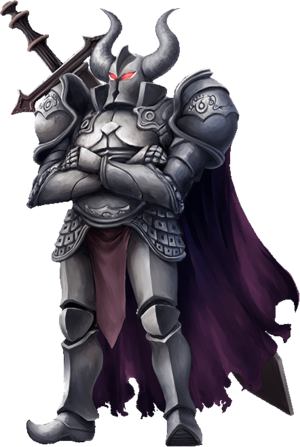 Black Armor Render