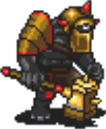 Golden Armored Cyclops Sprite