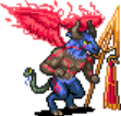 Ancient Blue Demon Sprite