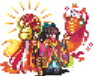 Orochihime (New Year's) Sprite