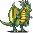 Green Dragon (Walking) Sprite