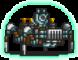 Blue Droid Sprite