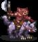 Red Goblin Wolf Rider Sprite