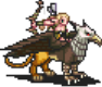Griffin Rider Archer (Walking) Sprite