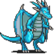 Blue Dragon (Walking) Sprite