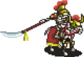 Red Skeleton Cavalry Sprite