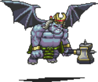 Flying Greater Demon Sprite