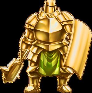 Gold Armor Render