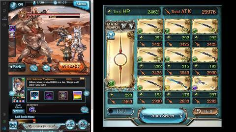 Granblue Fantasy - Nio 5* (lvl100) Shiva Helnar vs Titan