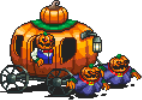 Pumpkin Carriage Enemy Sprite