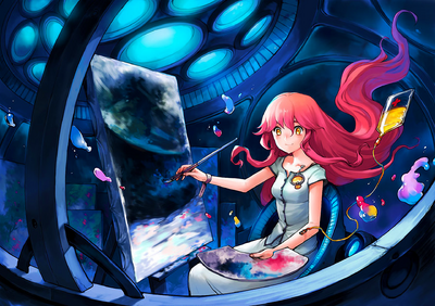 Asuka111 - Painting from the moon (29303035)