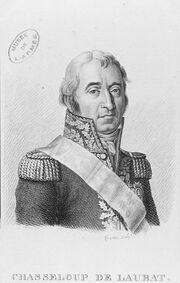 Forestier - Portrait du général François de Chasseloup-Laubat 1754-1833)
