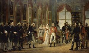 Napoléon Ier reçoit à Saint-Cloud le Senatus-Consulte qui le proclame empereur des Français