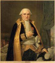 Naigeon Elzidor - Gaspard Monge (1746-1818), comte de Peluse, mathématicien, en grand habit de Président du Sénat Conservateur