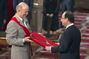 François Hollande - Grand-collier de la Légion d'honneur