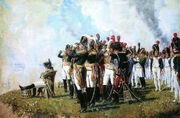 Vereshagin.Napoleon near Borodino